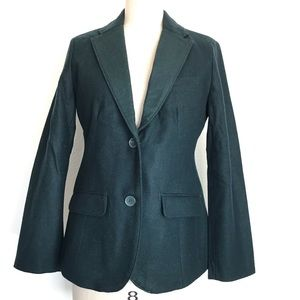 Eddie Bauer 6 classic wool blazer